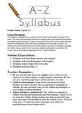 K-1 Summer School Syllabus, (24 Days)
