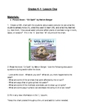 K-1 Water Pollution Lessons