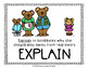 K-1 Word Wall Posters Academic Vocabulary