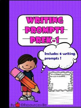PreK-1 Writing Prompts