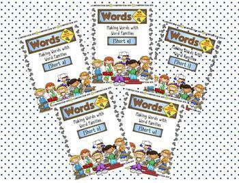 K-1 Yearlong, Hands-On Literacy, Math, and Writing Activities-Bundle