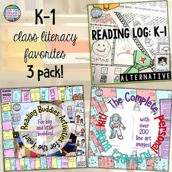 K-1 language favorites bundle - fun reading and writing activities!