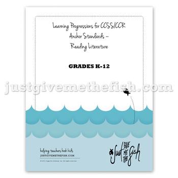 K-12 CCSS/CCR Anchor Standards - Reading Literature