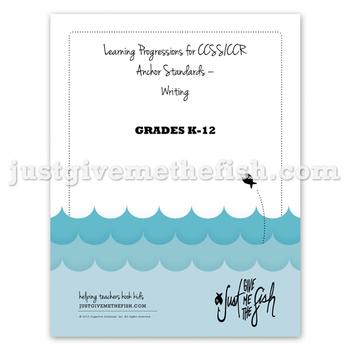 K-12 CCSS/CCR Anchor Standards - Writing