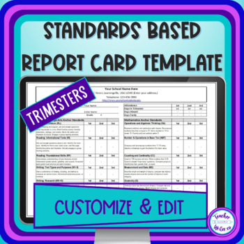 K-12 Common Core Report Card for Trimesters