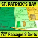 Reading Passages St. Patrick Kindergarten 1st Grade