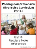 Reading Comprehension Lesson Plans for K-1 {Unit 9: Making Inferences}