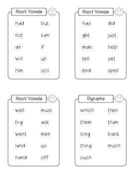 K-1st Grade Sight Words Book