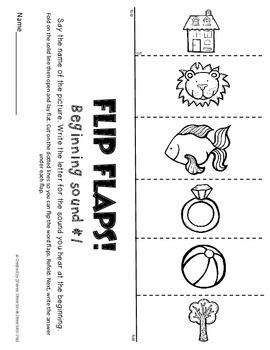 K-1st Language Arts Review with FLIP FLAPS