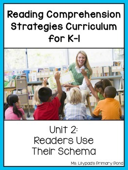 Reading Comprehension Lesson Plans for K-1 {Unit2:Background Knowledge / Schema}