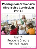 Reading Comprehension Lesson Plans for K-1 {Unit 7: Visualizing / Mental Images}