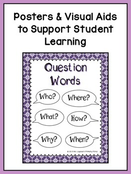 Reading Comprehension Lesson Plans for K-1 {Unit 8: Asking Questions}