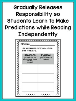 Reading Comprehension Lesson Plans for K-1 {Unit 3: Making Predictions}