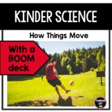 K-1st Science Predictable Reader: How Objects Move