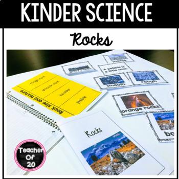 K-1st Science Predictable Reader: Rocks