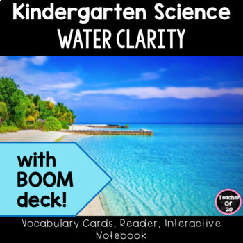 Kindergarten Science Unit Lesson Water Clarity