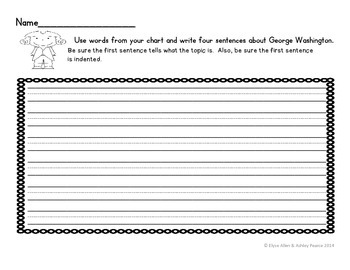 K, 1st, and 2nd Grade Pre-Writing Graphic Organizers and Writing Organizers
