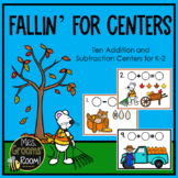 K-2 ADDITION AND SUBTRACTION CENTERS FOR FALL