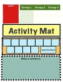 K-2 Activity Mat for Centers