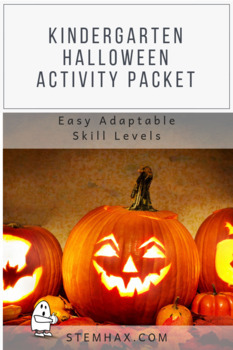 K-1 Activity Pack: Halloween & National Pumpkin Day (October) Fall