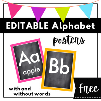 Alphabet Set with Pictures {K-2}