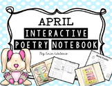 K-2 April Interactive Poetry Notebook {With Original Poems!}
