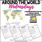 K-2 Around the World Wednesdays- A Social Justice Morning