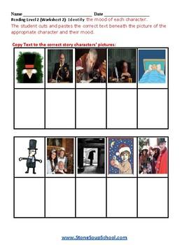 "K - 2  - Autism -  ""A Christmas Carol""  Moods of the Story - Reading - ESSA"