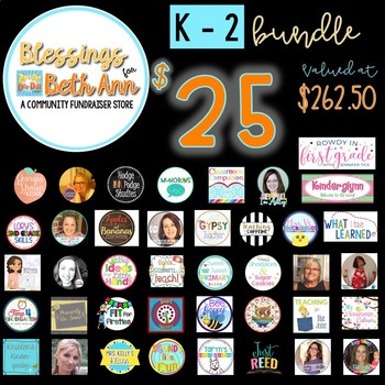 Blessings for Beth Ann K-2 Bundle
