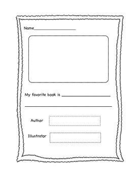 Book Reports (K-2)