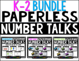 K-2 Bundle PAPERLESS Number Talks