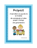 K-2 Character Education Packet