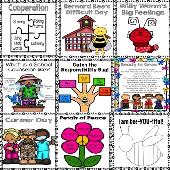K-2 Classroom Guidance Lesson Bundle