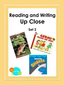 K-2 Common Core Close Reading Lessons Set 3