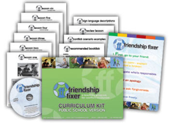 K-2: Conflict resolution, friendship lessons, anti-bullying, character (public)