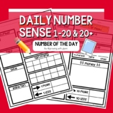 K-2 Daily Number Sense BUNDLE (Number of the Day)