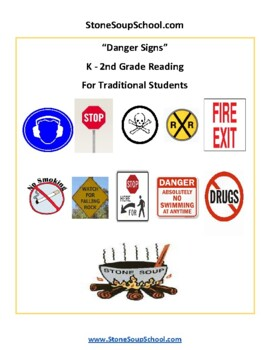 K - 2 Danger Signs for Gifted and Talented Students - Life Skills - Visual Aid
