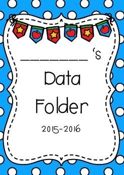 K-2 Data Notebook or Folder