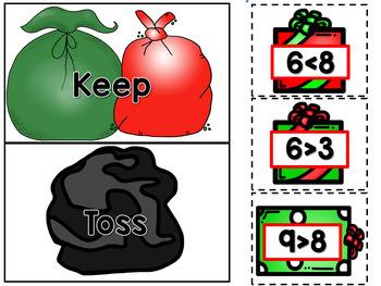 K-2 December Math Centers, Journals, and Printables Bundle