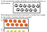 K.2.E Kinder Math Generating a Set Greater Than a Given Number