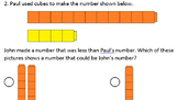 K.2.E Kinder Math Generating a Set Less Than a Given Number