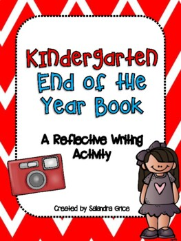 Kindergarten End of the Year Book
