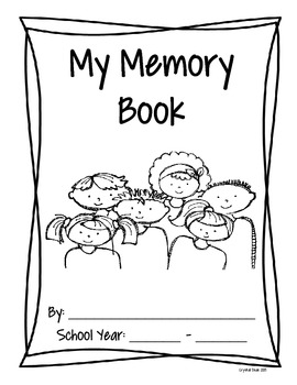 K-2 End of the Year Memory Book