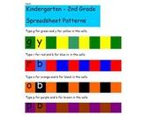 K-2 Excel Patterns