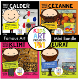 K-2 Famous Artist Art Project Unit Mini Bundle-Klimt, Ceza
