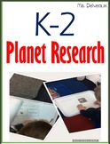 K-2 Fill In Planet Research Books