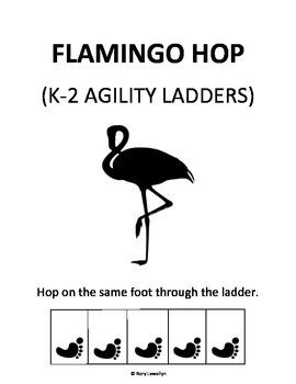 K-2 Flamingo-Hop (Agility Ladder)