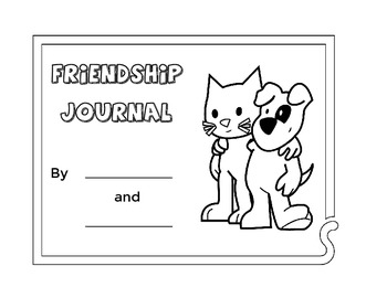K-2 Friendship Journal