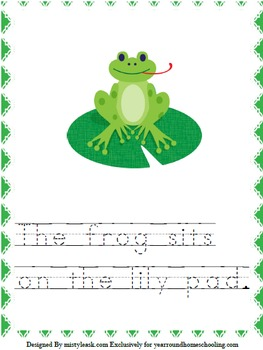 K-2 Frog Learning Pack