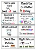 K-2 Guided Reading Goals Labels